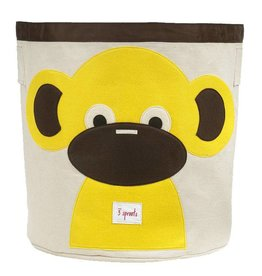 3 Sprouts 3 sprouts storage bin - monkey