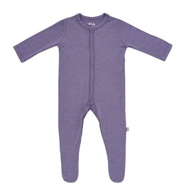Kyte Baby kyte baby snap footie - orchid