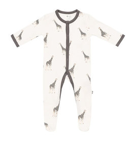 Kyte Baby kyte baby printed snap footie - giraffe