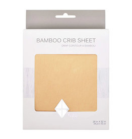 Kyte Baby kyte baby crib sheet - honey