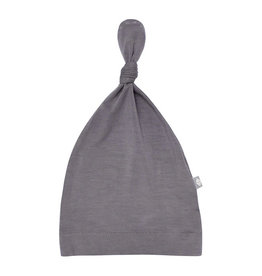 Kyte Baby kyte baby knotted cap - charcoal