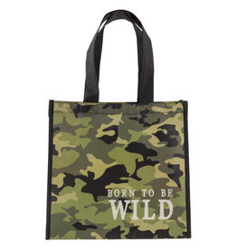 Stephen Joseph stephen joseph medium recycled gift bag - camo
