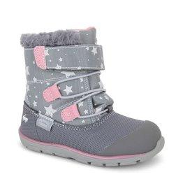 See Kai Run see kai run gilman gray stars winter boot