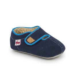 See Kai Run see kai run cruz crib shoe - navy sherpa