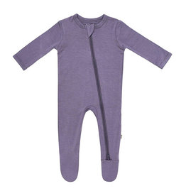 Kyte Baby kyte baby zippered footie - orchid