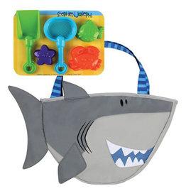 Stephen Joseph stephen joseph beach tote with sand toy play set - shark
