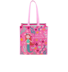 Stephen Joseph stephen joseph large recycled gift bag - mermaids