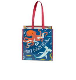 Stephen Joseph stephen joseph large recycled gift bag - shark