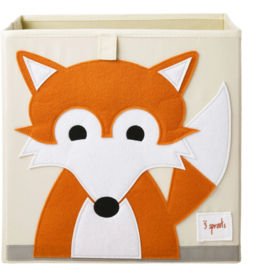 3 Sprouts 3 sprouts fox storage box