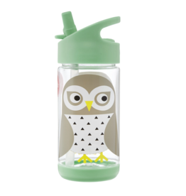 3 Sprouts 3 sprouts water bottle - owl