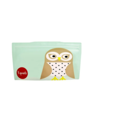 3 Sprouts 3 sprouts owl snack bag 2 pack