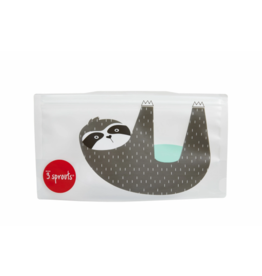 3 Sprouts 3 sprouts sloth snack bag 2 pack