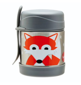 3 Sprouts 3 sprouts fox stainless steel food jar