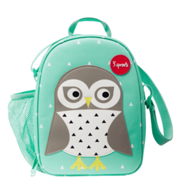3 Sprouts 3 sprouts owl lunch bag