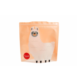 3 Sprouts 3 sprouts llama sandwich bag 2 pack
