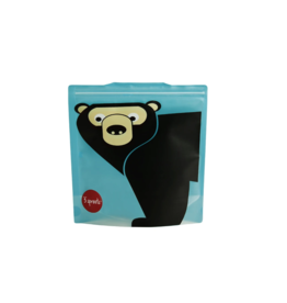 3 Sprouts 3 sprouts bear sandwich bag 2 pack