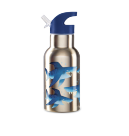 Crocodile Creek crocodile creek shark city insulated stainless bottle