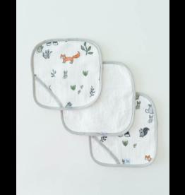 Little Unicorn little unicorn wash cloth set - forest friends