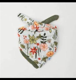 Little Unicorn little unicorn cotton muslin reversible bandana bib - primrose patch