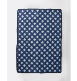 Little Unicorn little unicorn 5 x 7 outdoor blanket - navy plaid