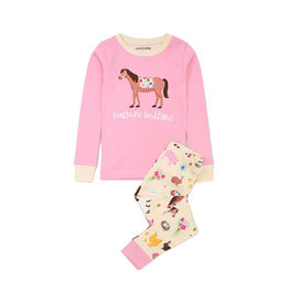 Hatley hatley country living applique kids pajama set