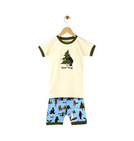 Hatley hatley  bear hug kids short pajama set
