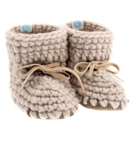 beba bean sweater moccs - oatmeal