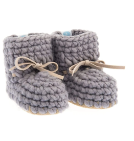 beba bean sweater moccs - grey