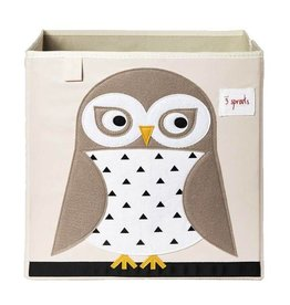 3 Sprouts 3 sprouts storage box - owl