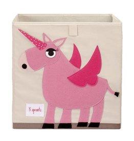 3 Sprouts 3 sprouts storage box - unicorn