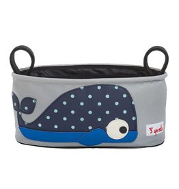 3 Sprouts 3 sprouts stroller organizer - whale