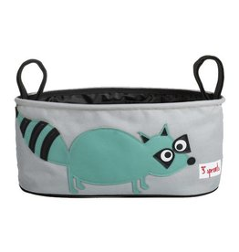 3 Sprouts 3 sprouts stroller organizer - raccoon