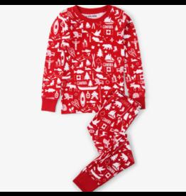 Hatley hatley kids pajama set - oh canada