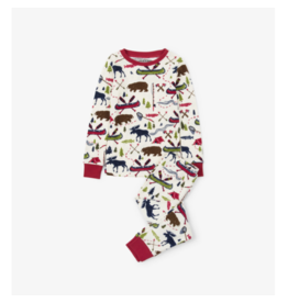 Hatley hatley sketch country kids pajama set