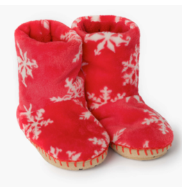 Hatley hatley holiday snowflakes fleece slippers