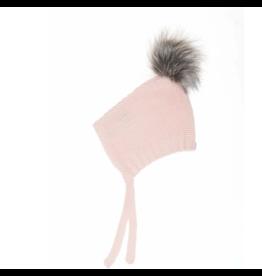 beba bean pom pom hat in pink