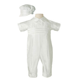 Little Things Mean A Lot little things mean a lot boys silk coverall with hat