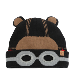 Flapjacks flapjacks knitted toque black bear