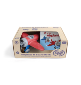 Green Toys green toys airplane + board book gift set