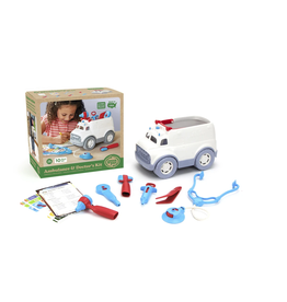 Green Toys green toys ambulance + doctor's kit