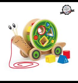 Hape Toys hape toys walk a long snail