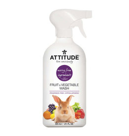 Attitude attitude fruit & vegetable wash 800 ml