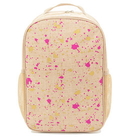 SoYoung soyoung grade school backpack - fuchsia & gold splatter