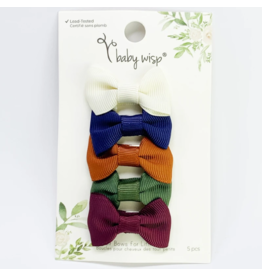 Baby Wisp baby wisp charlotte bow small snap 5pk - baby blogger