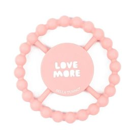 Bella Tunno bella tunno silicone happy teether - love more