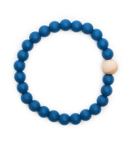 Bella Tunno bella tunno silicone teether bracelet for mom - noah navy