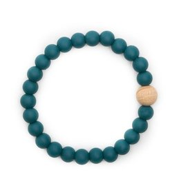 Bella Tunno bella tunno silicone teether bracelet for mom - toby teal