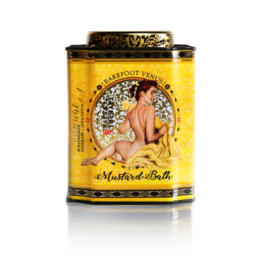 Barefoot Venus barefoot venus mustard bath therapeutic bath salts 480g tin