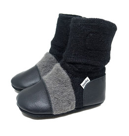 Nooks Design nooks design felted wool booties - eclipse