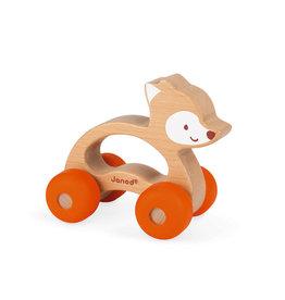 Juratoys Group (Janod) janod babypop push along fox